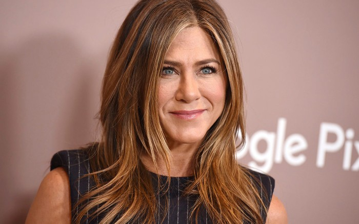 Jennifer Aniston at Variety's Power of Women awards, Los Angeles. She's just made her first post on Instagram.