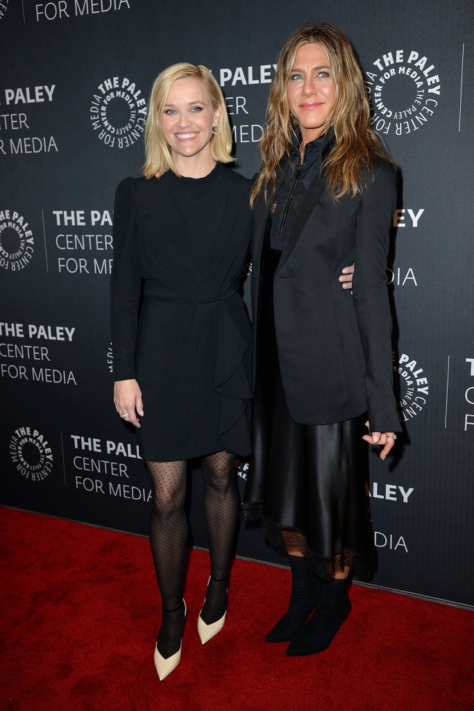 Reese Witherspoon and Jennifer Aniston'The Morning Show' TV show screening, Arrivals, The Paley Center For Media, New York, USA - 29 Oct 2019