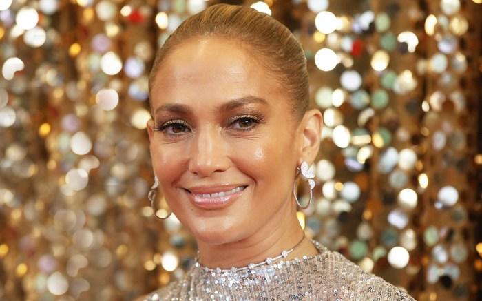 Actress Jennifer Lopez, Owen Wilson and Maluma film 'Marry Me' in New Yrk City