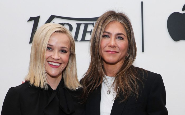 Jennifer Anniston, Reese Witherspoon, Apple TV Plus, Variety, Collab, The Morning Show