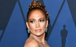 Jennifer Lopez, 2019 governors awards, red