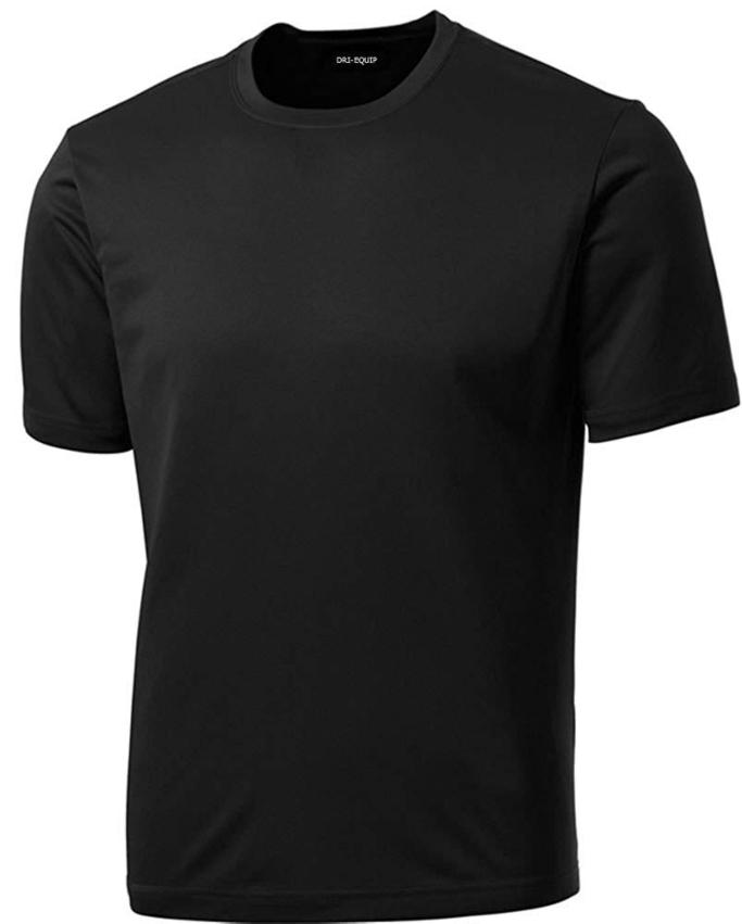 DRI-Equip Short Sleeve Moisture Wicking Running Shirts