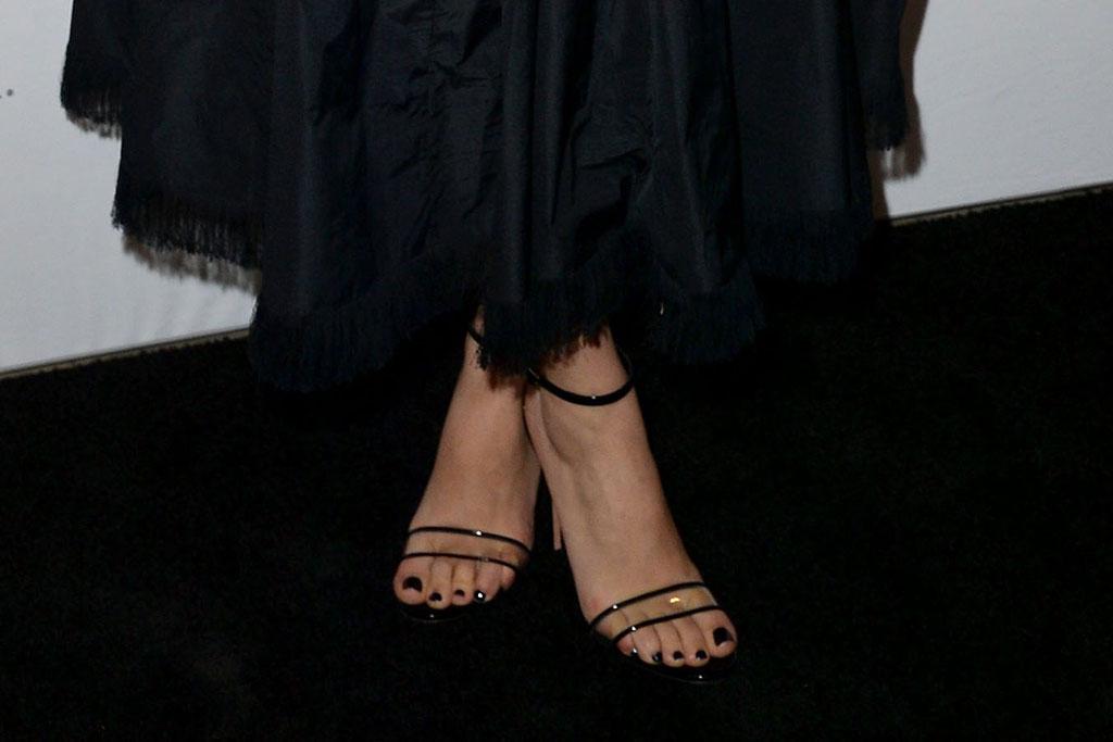 Scarlett Johansson, Adam Driver, Marriage Story, New York Film Festival, PVC Heels