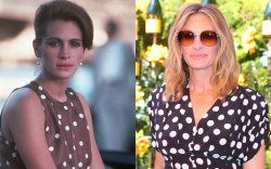 Julia Roberts, celebrity style, pretty woman,