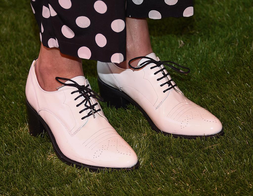 Julia Roberts, shoe detailVeuve Clicquot Polo Classic, Arrivals, Arrivals, Los Angeles, USA - 05 Oct 2019