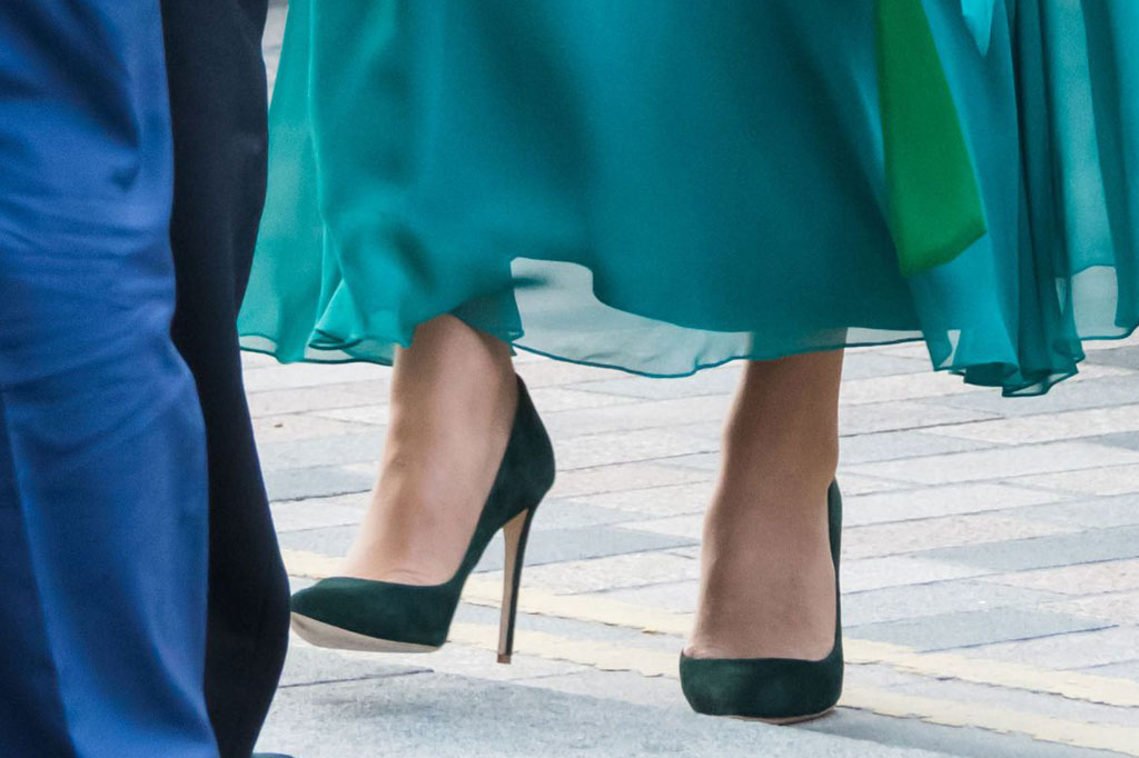 Kate Middleton, emmy London, court shoes, pumps, celebrity style, October 2019
