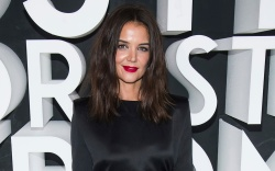 Katie Holmes attends the Nordstrom NYC