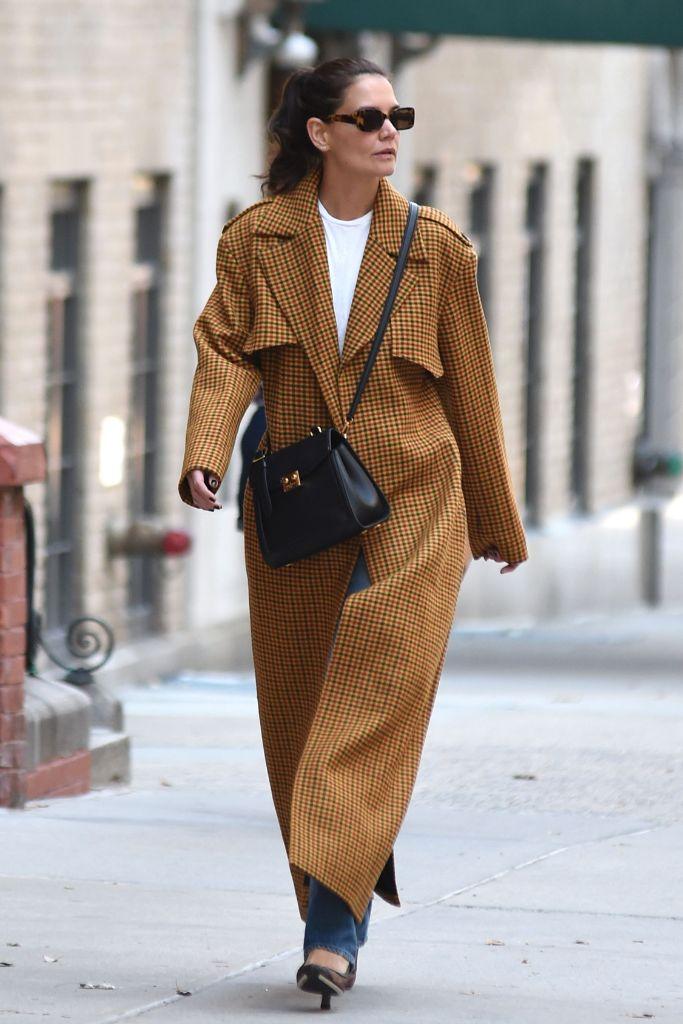 katie, holmes, street, style, fashion, new, york, paparazzi