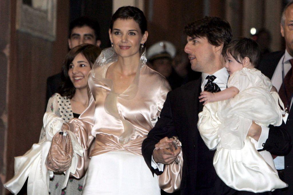 katie, holmes, tom, cruise, suri, cruise, wedding, 2006, italy