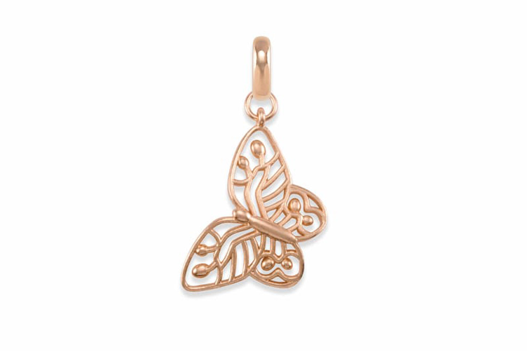 kendra scott butterfly charm, bca month jewelry, kendra scott