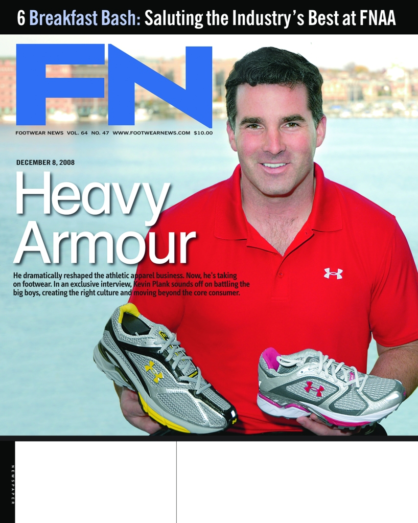 Under Armour Kevin Plank FN Cover 2008