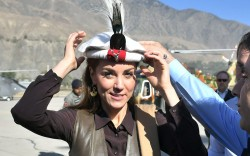 Kate Middleton in the Himalayan foothills