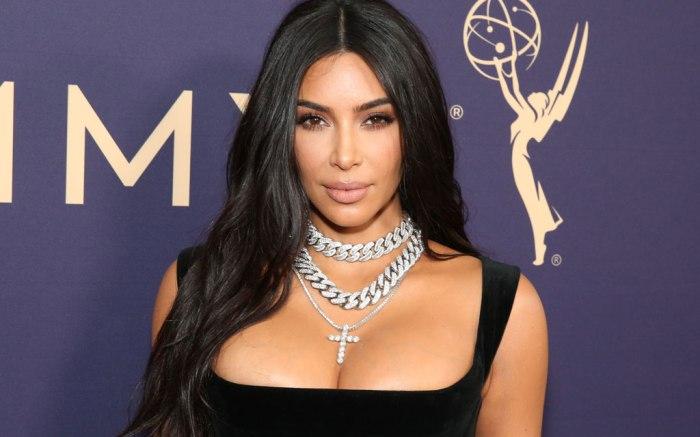 Kim Kardashian, celebrity style, red carpet, emmy awards