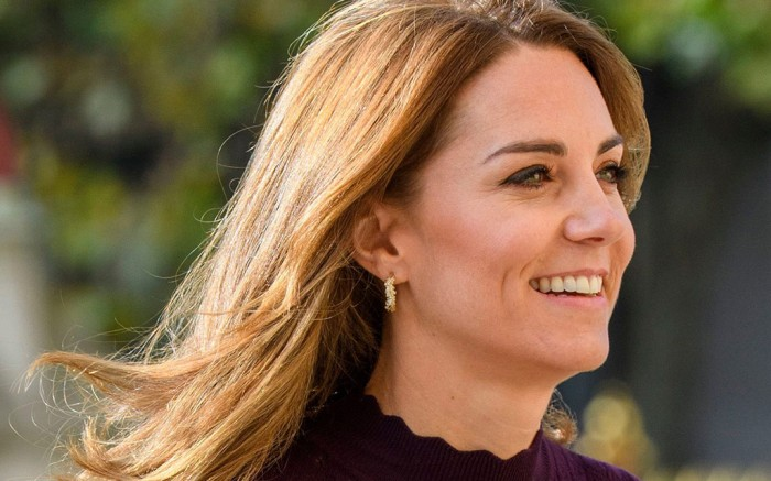 Kate Middleton attends the Natural History Museum in London.