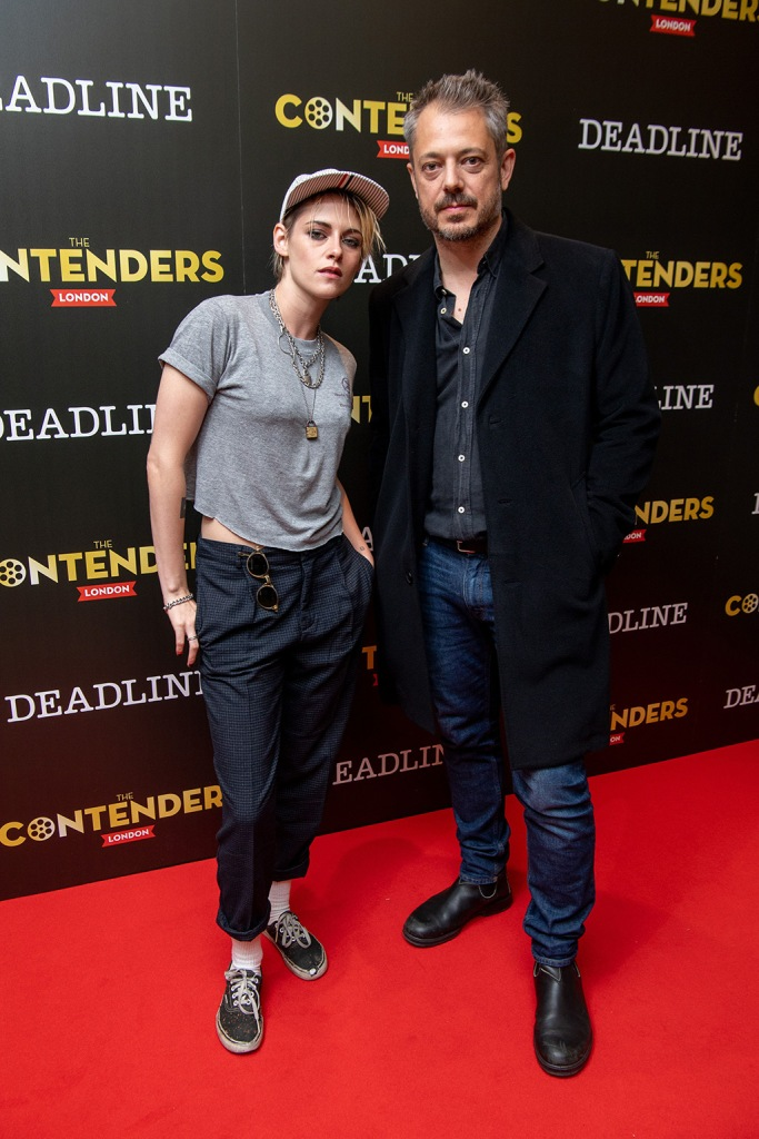 Kristen Stewart and Benedict AndrewsThe Contenders London presented by Deadline Hollywood, Ham Yard Hotel, London, UK - 05 Oct 2019