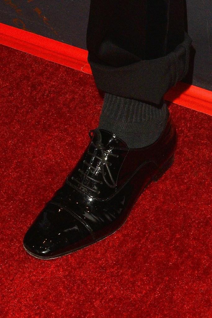 Kristen Stewart, christian louboutin shoes, lace-ups, black flats, shoe detail'Spotlight On Kristen Stewart', Mill Valley Film Festival, USA - 07 Oct 2019, celebrity style
