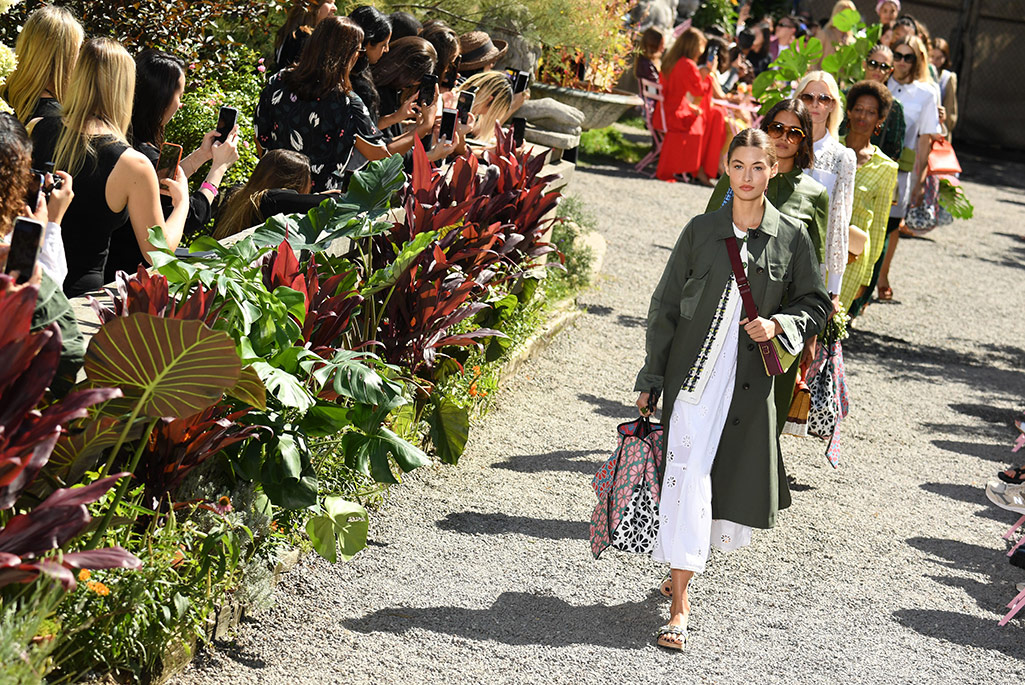 Kate Spade, clogs, New York Fashion Week, spring '20.