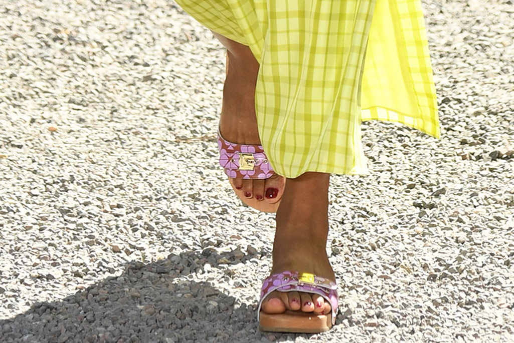 Kate Spade, clogs, New York Fashion Week, spring '20.