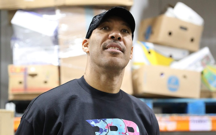 lavar ball, big baller brand water, bbb, Los Angeles Regional Food Bank