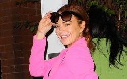 Lindsay Lohan, celebrity style, street style,