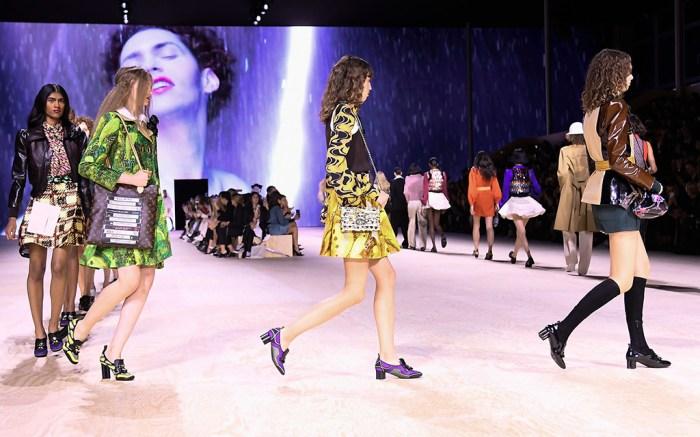 catwalk, runway, Louis Vuitton show, Runway, Spring Summer 2020, Paris Fashion Week, France - 01 Oct 2019