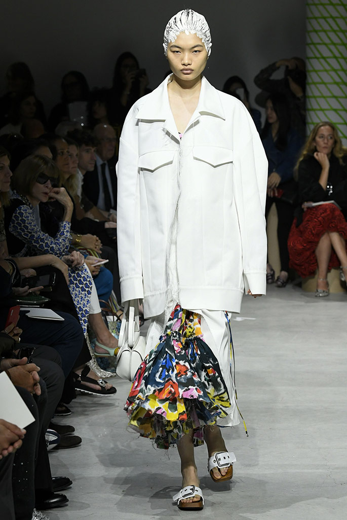 Marni clogs, Paris Fashion Week, spring '20.