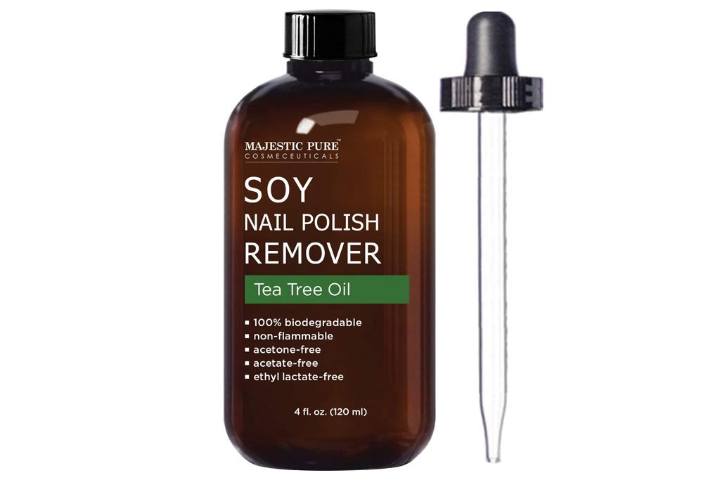 nail polish remover, natural