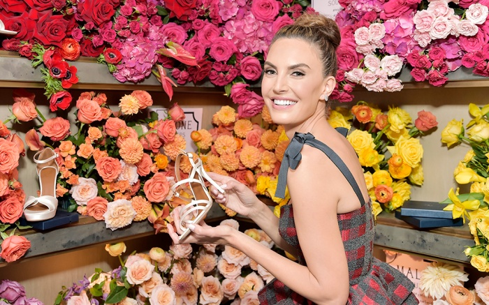WEST HOLLYWOOD, CALIFORNIA - OCTOBER 17: Elizabeth Chambers Hammer attends Mary Alice Malone and Elizabeth Chambers Hammer Celebrate the Launch of the Malone Souliers Red Carpet Capsule Collection at Eric Buterbaugh Floral on October 17, 2019 in West Hollywood, California. (Photo by Stefanie Keenan/Getty Images for Malone Souliers)