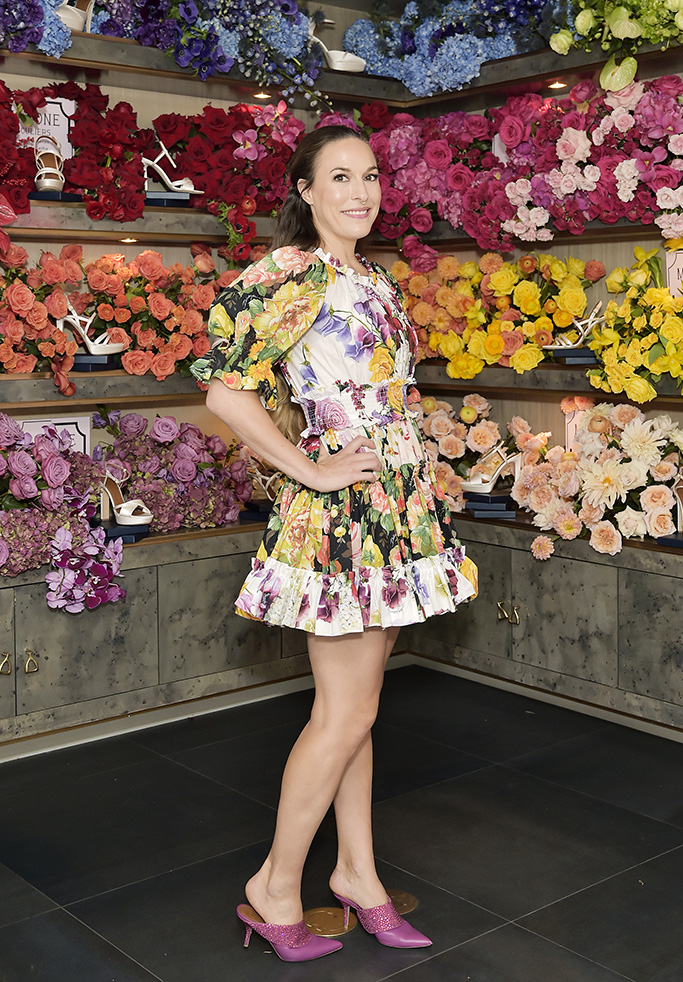 WEST HOLLYWOOD, CALIFORNIA - OCTOBER 17: Mary Alice Malone attends Mary Alice Malone and Elizabeth Chambers Hammer Celebrate the Launch of the Malone Souliers Red Carpet Capsule Collection at Eric Buterbaugh Floral on October 17, 2019 in West Hollywood, California. (Photo by Stefanie Keenan/Getty Images for Malone Souliers)