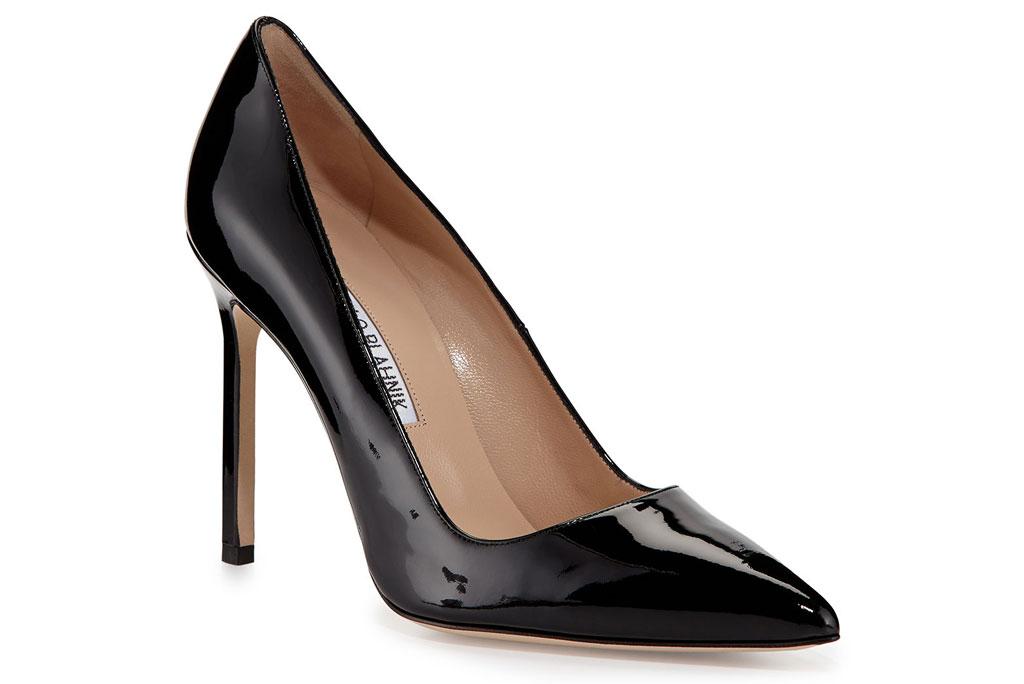 Manolo Blahnik, bb pumps, black pumps, stilettos