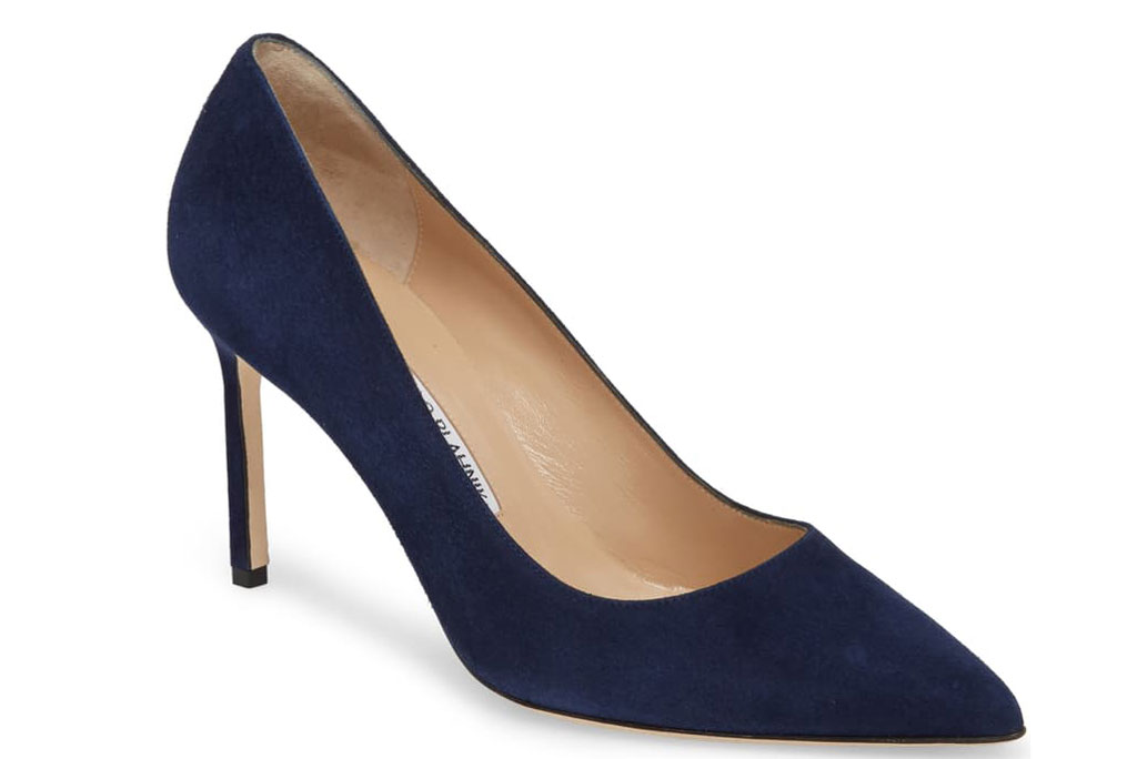 Manolo Blahnik BB pump.