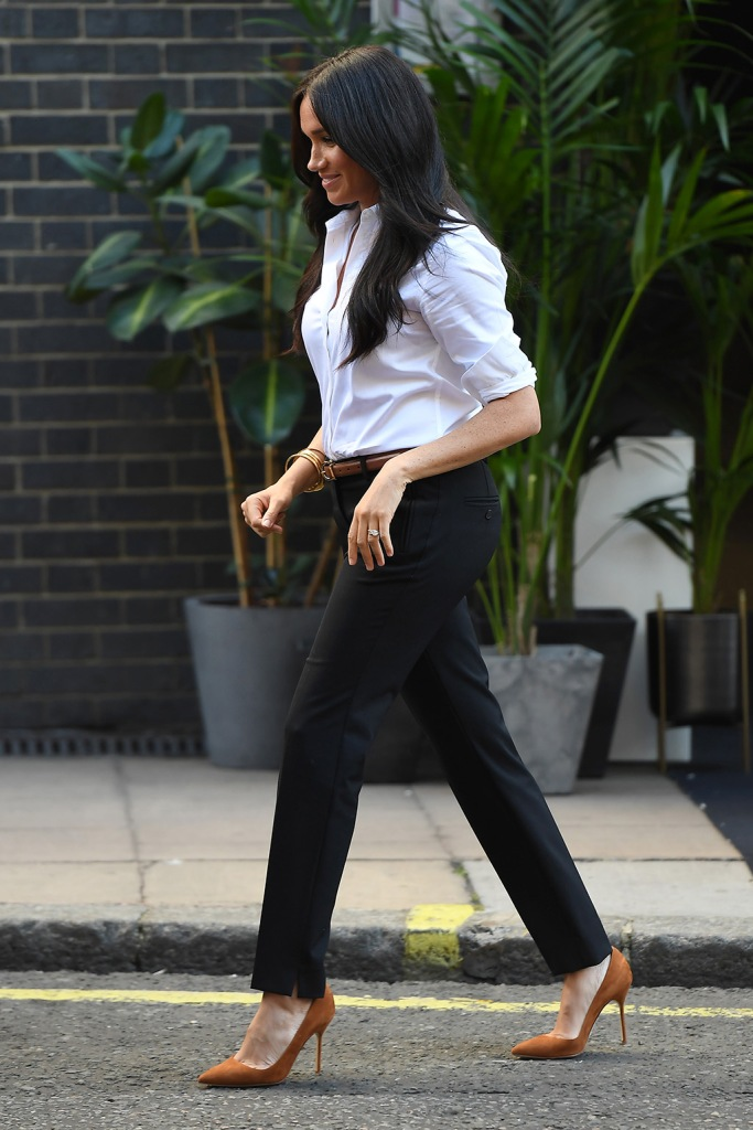 Meghan Duchess of SussexSmart Works capsule collection launch, John Lewis, Oxford Street, London, UK - 12 Sep 2019