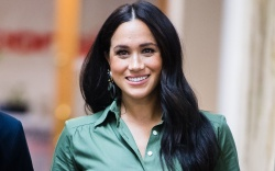 Meghan Duchess of Sussex visits Action