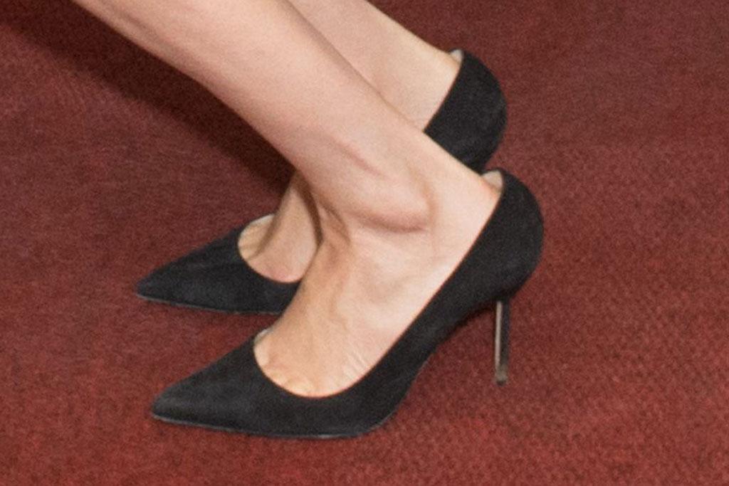 Meghan Markle, Manolo Blahnik, bb pumps, stilettos, celebrity shoe style, feet, Johannesburg, South Africa