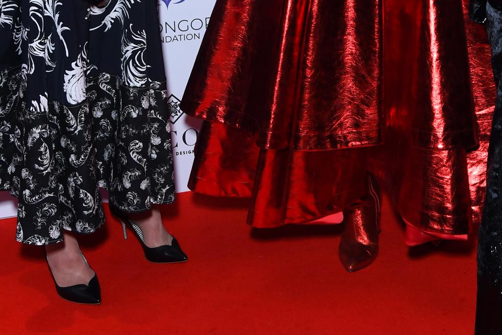 melanie griffith, paloma faith, eva longoria, global gift gala, london, sparkly suit