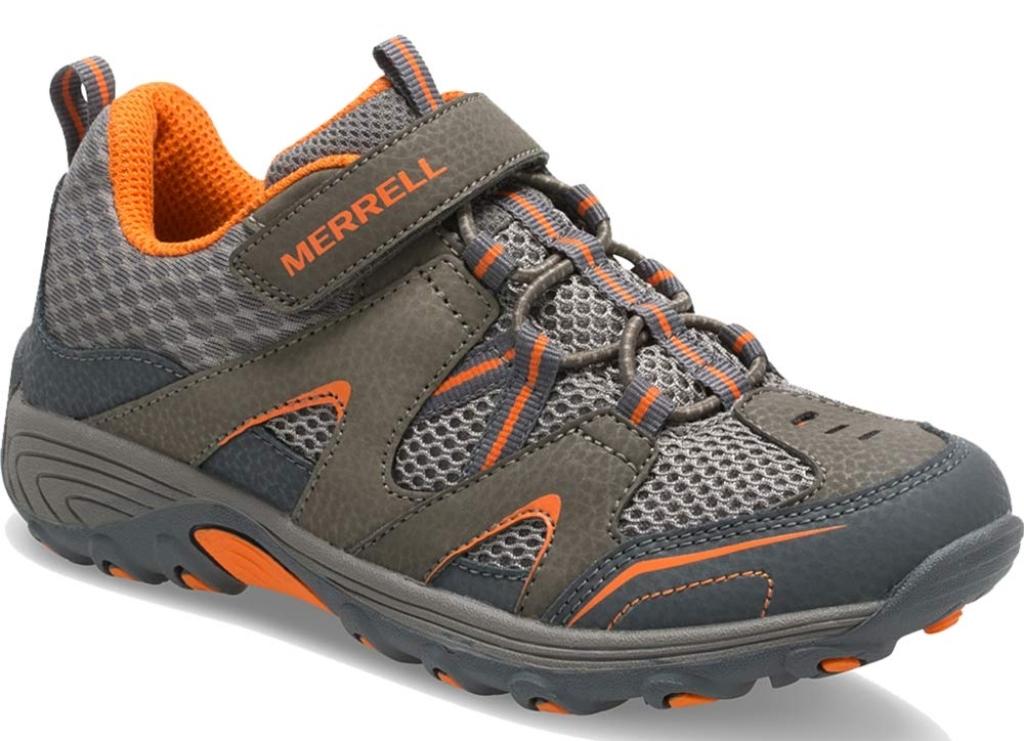 merrell trail chaser kids hiking sneaker