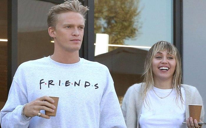 Miley Cyrus, cody simpson, boyfriend, girlfriend, coffee date, Los Angeles, October 2019