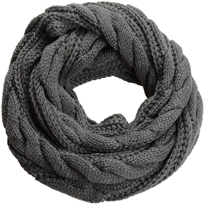 Neosan Ribbed Infinity Scarf