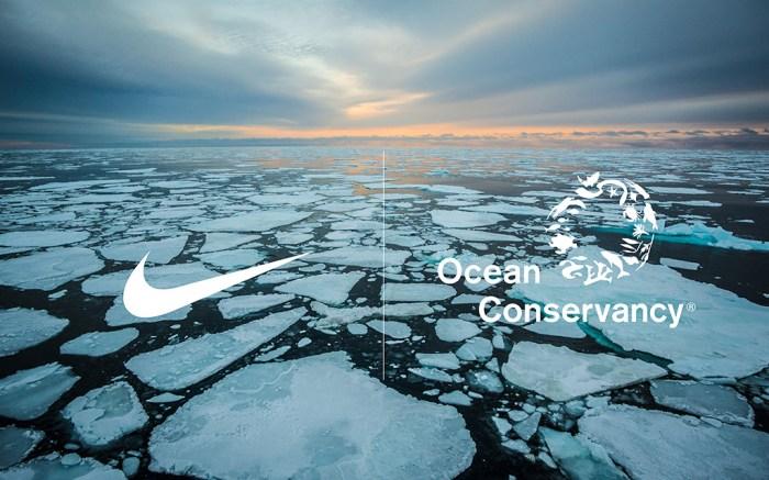 Nike, arctic pledge ocean, conservancy