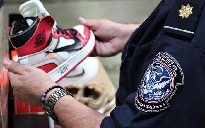 nike counterfeits seized