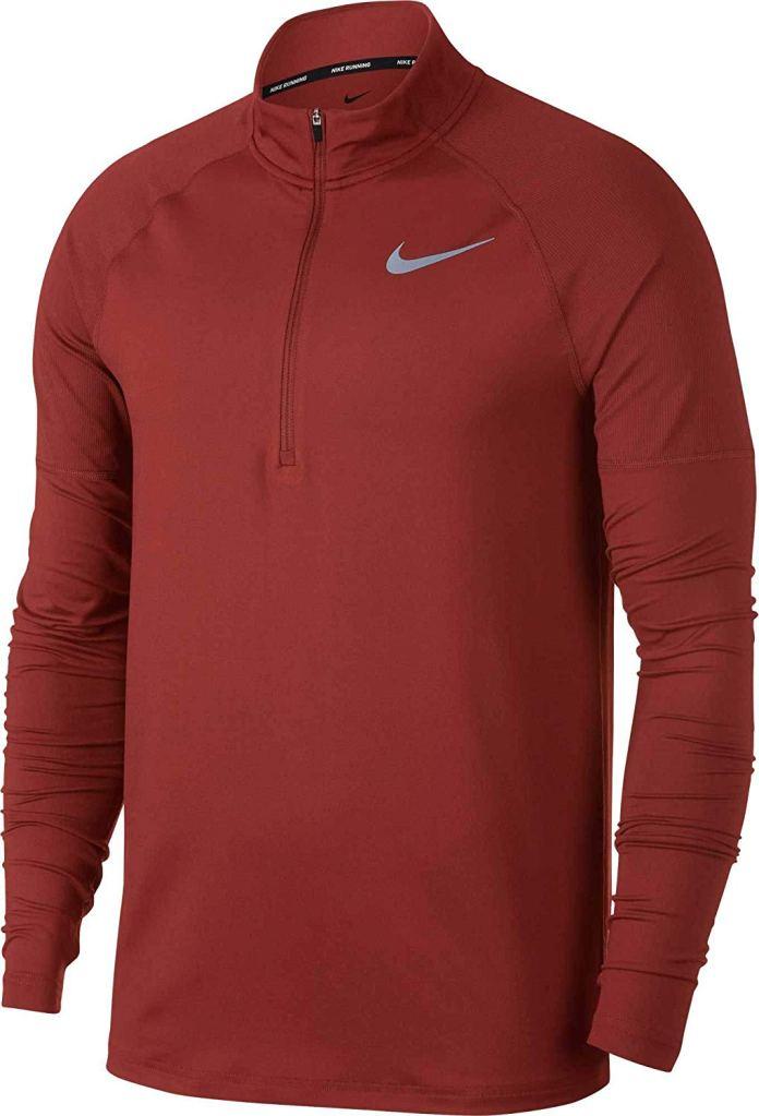 nike half-zip running shirt