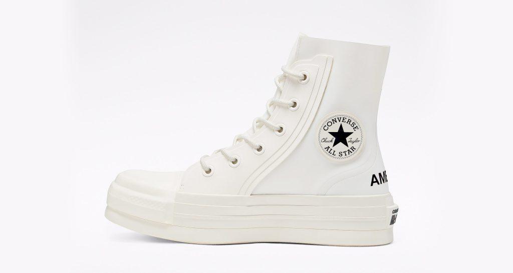Ambush x Converse Chuck 70, white boots