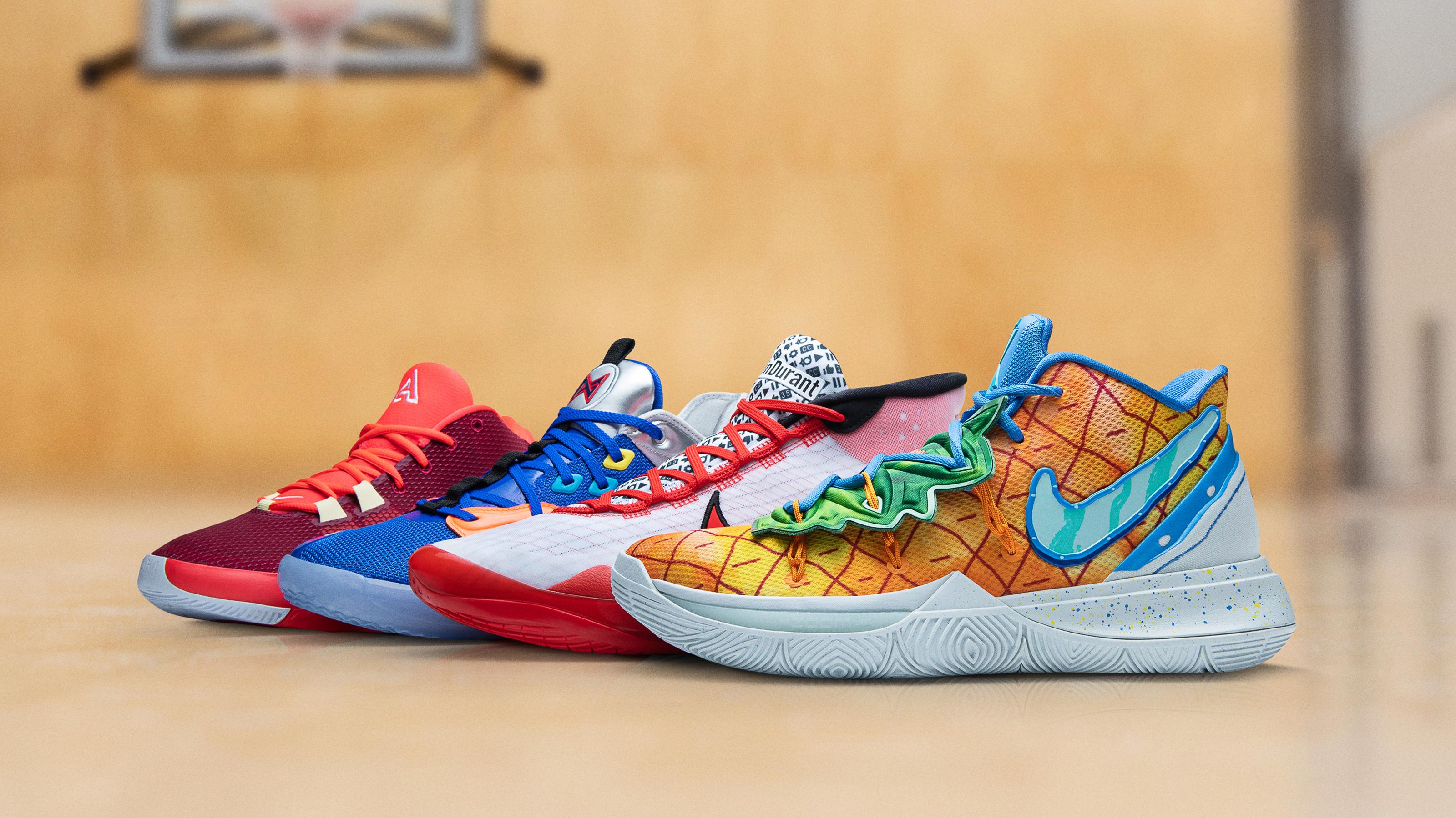 Nike's Spongebob Squarepants, Kyrie 5