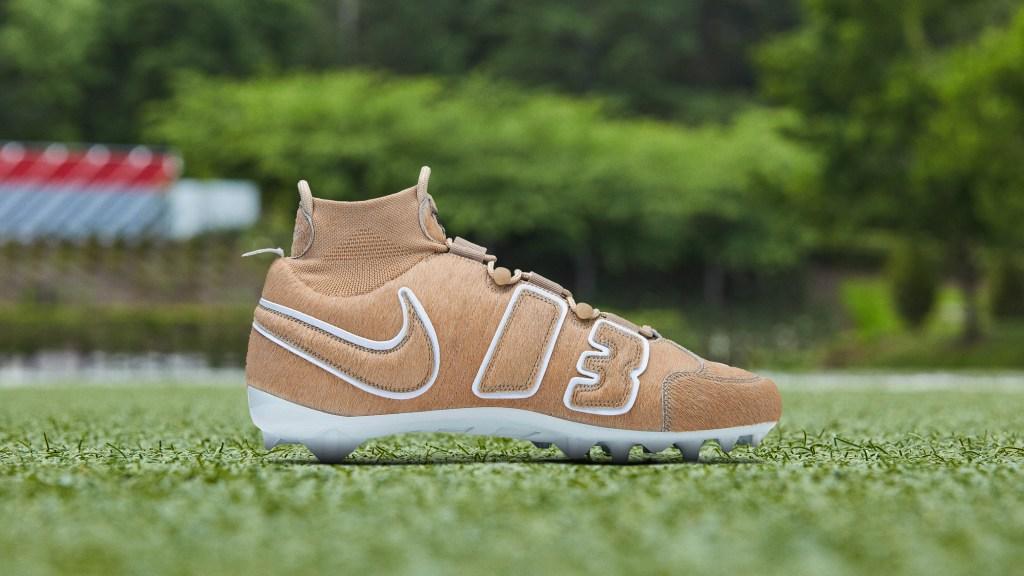 Nike Vapor Untouchable Pro 3 OBJ Uptempo Cleat 'GOAT'