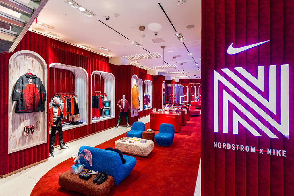 Nordstrom x Nike, NYC