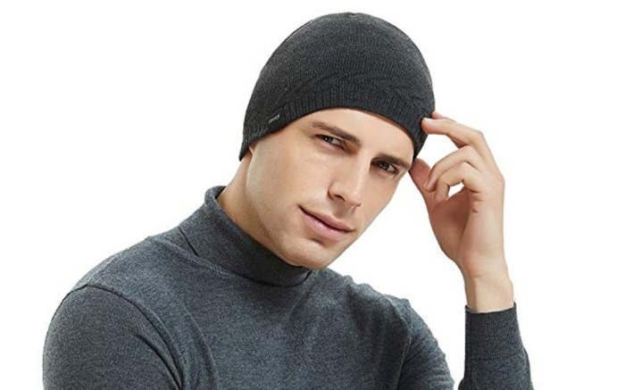 omechy beanie, knit cap, mens