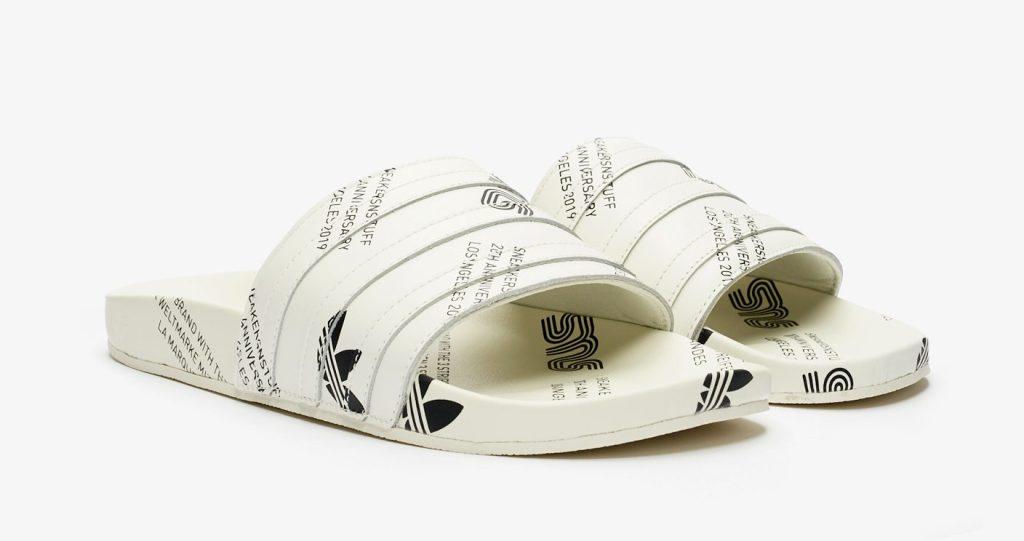 Sneakersnstuff x Adidas Adilette '20th Anniversary'