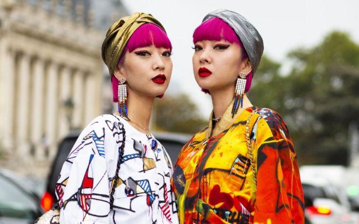Chanel Street Style at Paris Fashion Week Spring 2020