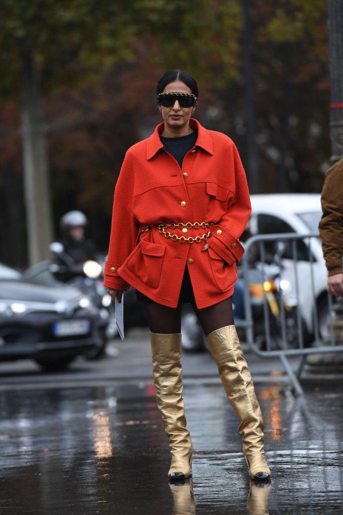 chanel, street, style, paris, fashion, week, spring, 2020, nausheen, shah, influencer