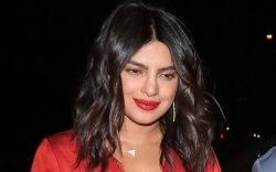 Priyanka Chopra, celebrity style, red dress,